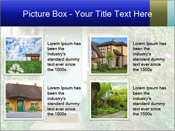 Cute Countryside House PowerPoint Templates - Slide 14