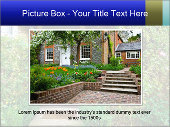 Cute Countryside House PowerPoint Templates - Slide 16