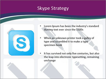 Collection Of Pen PowerPoint Template - Slide 8