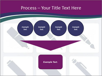 Collection Of Pen PowerPoint Template - Slide 93