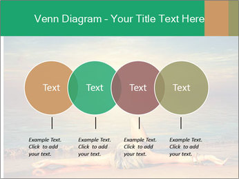 Woman Taking Sun Bath PowerPoint Templates - Slide 32