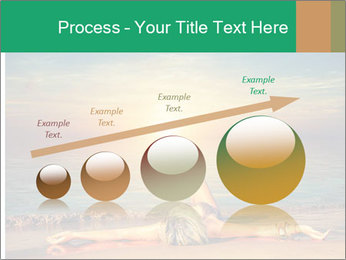 Woman Taking Sun Bath PowerPoint Templates - Slide 87