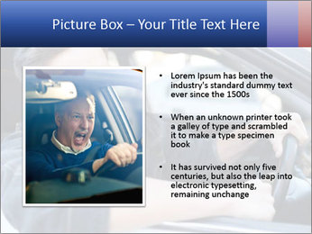 Shouting Driver PowerPoint Template - Slide 13