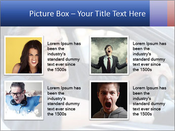 Shouting Driver PowerPoint Template - Slide 14