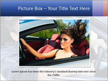 Shouting Driver PowerPoint Template - Slide 16