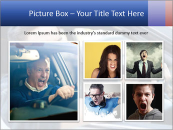 Shouting Driver PowerPoint Template - Slide 19