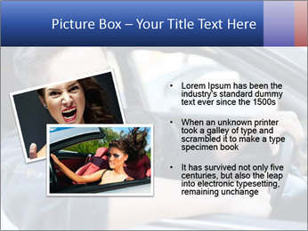 Shouting Driver PowerPoint Template - Slide 20