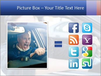 Shouting Driver PowerPoint Template - Slide 21