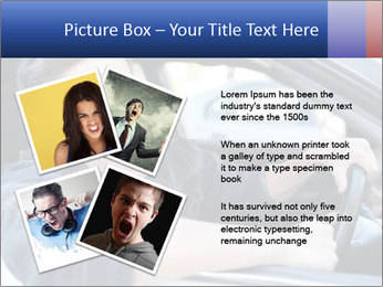 Shouting Driver PowerPoint Template - Slide 23