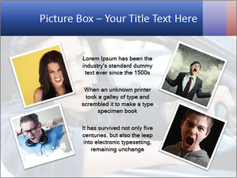 Shouting Driver PowerPoint Template - Slide 24