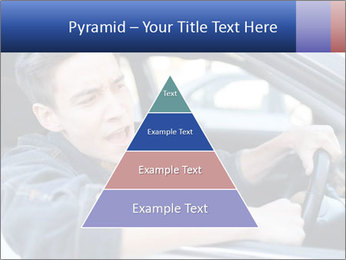 Shouting Driver PowerPoint Template - Slide 30