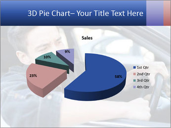 Shouting Driver PowerPoint Template - Slide 35