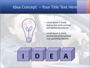 Shouting Driver PowerPoint Template - Slide 80