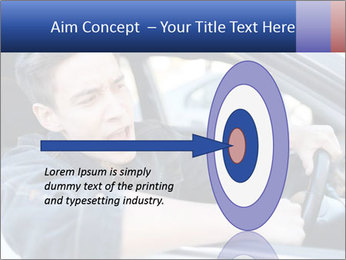 Shouting Driver PowerPoint Template - Slide 83