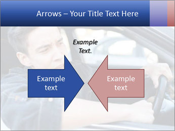 Shouting Driver PowerPoint Template - Slide 90