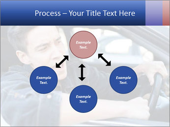 Shouting Driver PowerPoint Template - Slide 91