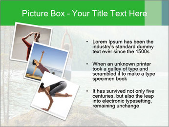 Yoga Ourside PowerPoint Template - Slide 17