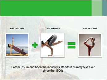 Yoga Ourside PowerPoint Template - Slide 22