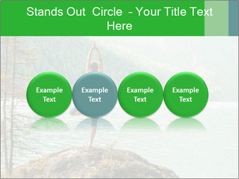 Yoga Ourside PowerPoint Templates - Slide 76