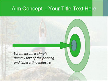 Yoga Ourside PowerPoint Templates - Slide 83