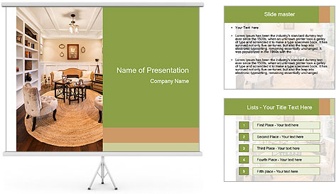 Beautiful Apartment PowerPoint Template