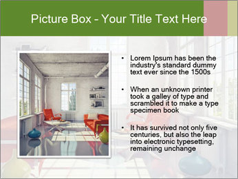 Red And White Room PowerPoint Templates - Slide 13