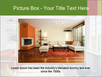 Red And White Room PowerPoint Templates - Slide 15