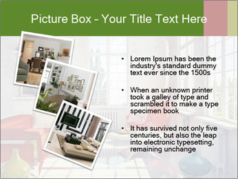 Red And White Room PowerPoint Templates - Slide 17