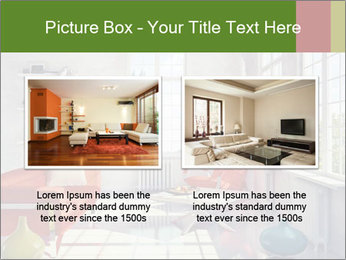Red And White Room PowerPoint Templates - Slide 18