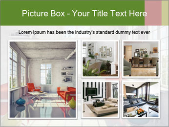 Red And White Room PowerPoint Templates - Slide 19
