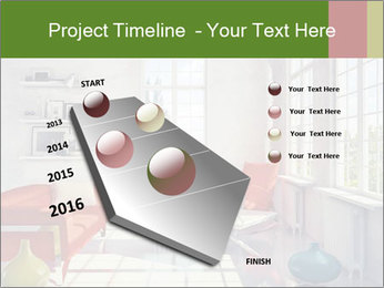Red And White Room PowerPoint Templates - Slide 26