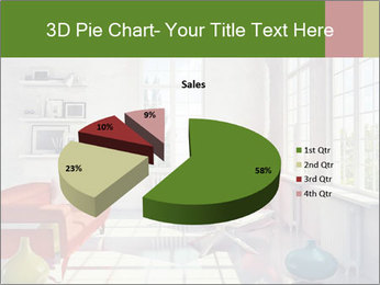 Red And White Room PowerPoint Templates - Slide 35