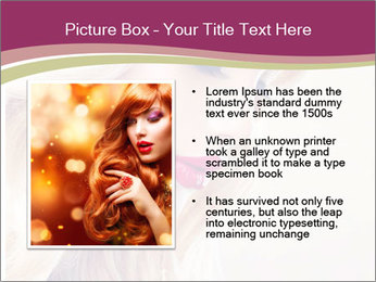 Blonde Beauty PowerPoint Template - Slide 13