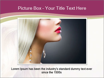 Blonde Beauty PowerPoint Template - Slide 15