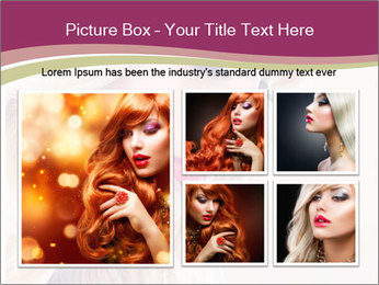Blonde Beauty PowerPoint Template - Slide 19
