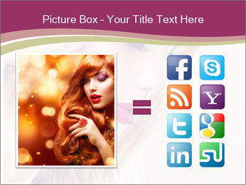 Blonde Beauty PowerPoint Template - Slide 21