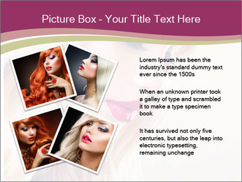 Blonde Beauty PowerPoint Template - Slide 23