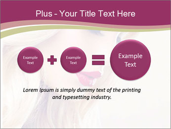 Blonde Beauty PowerPoint Template - Slide 75