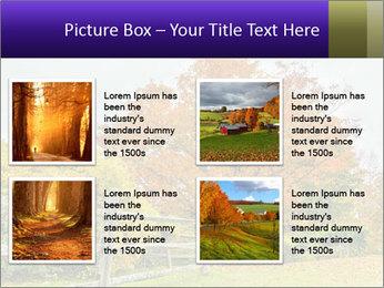 Orange Tree Leaves PowerPoint Template - Slide 14