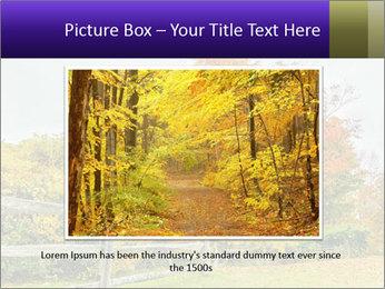 Orange Tree Leaves PowerPoint Template - Slide 15