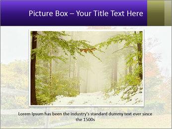 Orange Tree Leaves PowerPoint Template - Slide 16