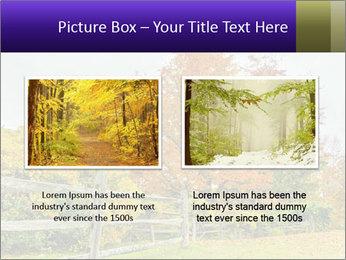 Orange Tree Leaves PowerPoint Template - Slide 18