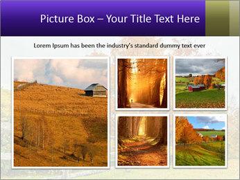 Orange Tree Leaves PowerPoint Template - Slide 19