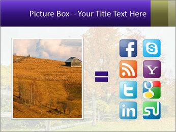 Orange Tree Leaves PowerPoint Template - Slide 21