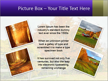 Orange Tree Leaves PowerPoint Template - Slide 24
