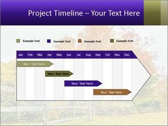Orange Tree Leaves PowerPoint Template - Slide 25