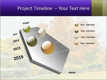 Orange Tree Leaves PowerPoint Template - Slide 26
