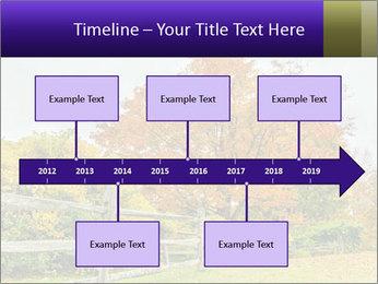 Orange Tree Leaves PowerPoint Template - Slide 28