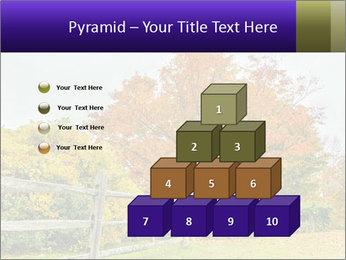 Orange Tree Leaves PowerPoint Template - Slide 31
