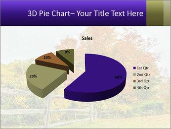 Orange Tree Leaves PowerPoint Template - Slide 35